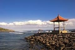 巴厘岛海景 免版税库存照片