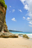 巴厘岛海滩理想国印度尼西亚 图库摄影