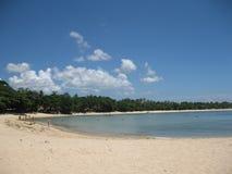 巴厘岛海滩 库存照片