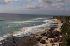 巴厘岛海滩 库存图片