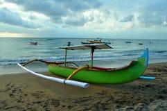 巴厘岛海滩jimbaran 免版税库存图片