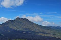 巴厘岛火山 库存照片