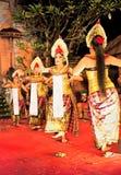 巴厘岛舞蹈印度尼西亚legong天堂恍惚 免版税库存照片