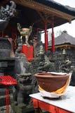 巴厘岛菩萨寺庙 免版税库存图片