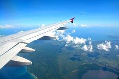 巴厘岛鸟瞰图  图库摄影