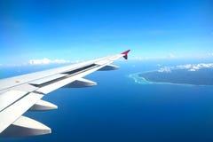 巴厘岛鸟瞰图  库存图片