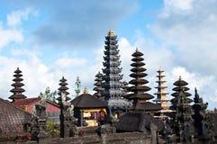 巴厘岛besakih印度尼西亚寺庙 库存图片