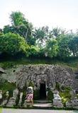 巴厘岛gajah goa印度尼西亚 库存图片