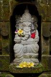 巴厘岛ganesh印度尼西亚雕象 免版税库存图片