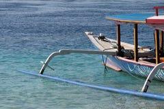巴厘岛gili trawangan的印度尼西亚 免版税库存图片