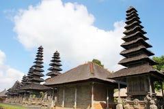 巴厘语传统寺庙 免版税库存图片