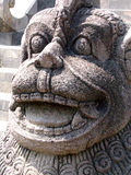巴厘语印度尼西亚雕象 免版税库存照片