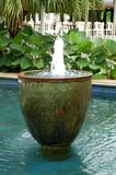 巴厘语喷泉水 库存照片