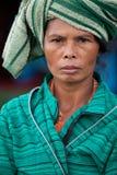巴厘语妇女 库存图片