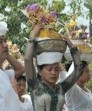 巴厘语妇女 库存照片