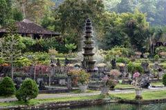 巴厘语寺庙Tirta Gangga Karangasem 库存照片
