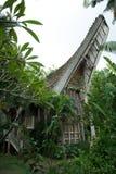 巴厘语房子 库存图片