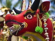 巴厘语提供 免版税图库摄影