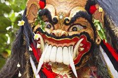 巴厘语新年度 库存照片