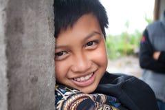 巴厘语男孩年轻人 免版税库存照片