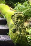 巴厘语石雕象 图库摄影