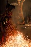 巴厘语舞蹈家 图库摄影