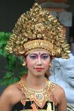 巴厘语舞蹈演员 免版税图库摄影