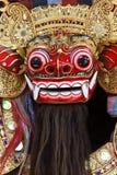 巴厘语barong屏蔽 免版税库存照片