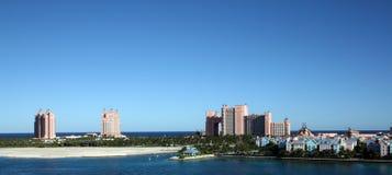 巴哈马海岛拿骚天堂 库存照片