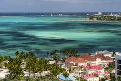 巴哈马的风景风景视图 免版税库存图片