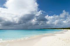 巴哈马群岛的海岛海滩 免版税库存图片