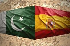 巴基斯坦和西班牙 皇族释放例证