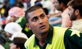 巴基斯坦支持者 免版税库存照片