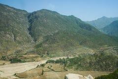 巴基斯坦洪水和Buner评估 库存照片