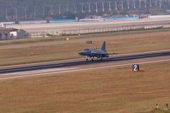 巴基斯坦空军JF-17 免版税库存照片