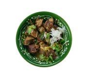 巴基斯坦羊羔咖喱 库存图片