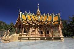 巴塔美丽的bhuda phra roy sri寺庙 库存图片