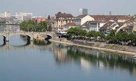 巴塞尔运河 免版税库存照片
