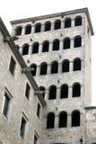 巴塞罗那专业宫殿reial的贝劳 免版税库存照片