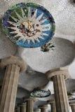 巴塞罗那侧房g parc 库存图片