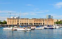 巴塞罗那历史记录博物馆 免版税库存图片