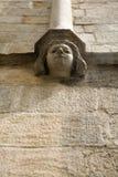 巴塞罗那哥特式大教堂的详细资料 免版税库存图片