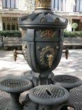 巴塞罗那喷泉公共水 免版税库存图片