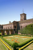 巴塞罗那堡垒 免版税库存图片
