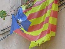 巴塞罗那大厦街道和安东尼Gaudi市秀丽 免版税库存照片