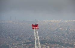 巴塞罗那市看法  免版税库存图片