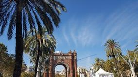 巴塞罗那市 免版税库存图片