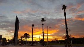 巴塞罗那市 库存图片