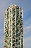 巴塞罗那摩天大楼 库存图片