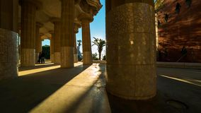 巴塞罗那是西班牙的加泰罗尼亚资本和大城市,以及次要个人口众多的自治市 库存照片
